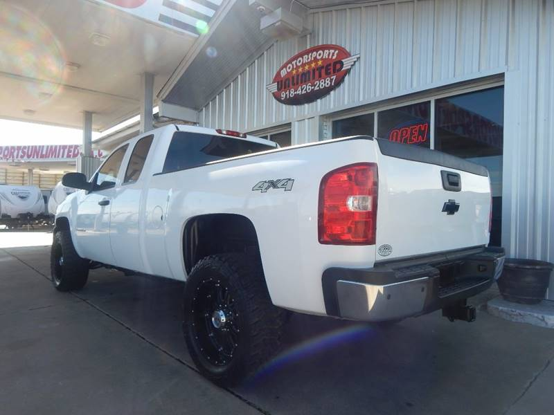 2007 Chevrolet Silverado 2500HD Work Truck 4dr Extended Cab 4WD SB - Mcalester OK