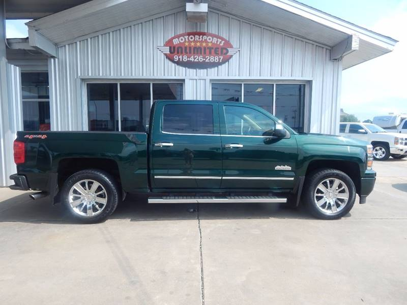 2015 Chevrolet Silverado 1500 4x4 High Country 4dr Crew Cab 5.8 ft. SB - Mcalester OK
