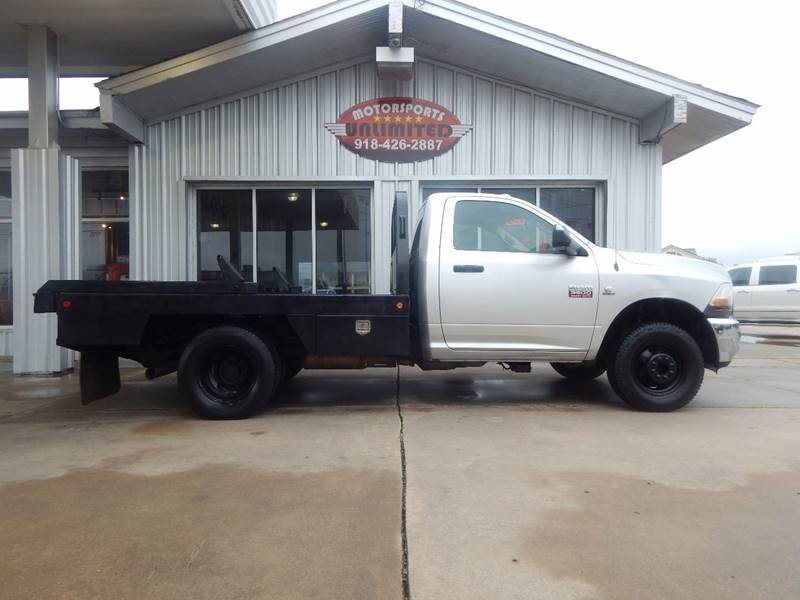 2011 RAM Ram Chassis 3500 4x4 ST 2dr Regular Cab 167.5 in. WB Chassis - Mcalester OK