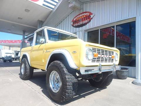 Ford bronco for sale carsforsale 1966 ford bronco for sale in mcalester ok sciox Gallery