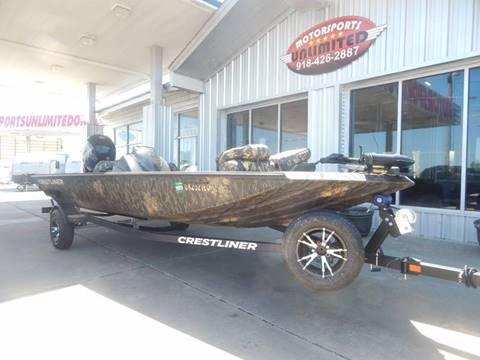 2017 Crestliner DX VT 18 for sale in Mcalester, OK