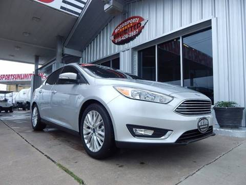 2017 Ford Focus for sale in Mcalester, OK