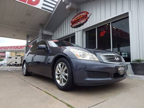 2008 Infiniti G35 for sale in Mcalester, OK