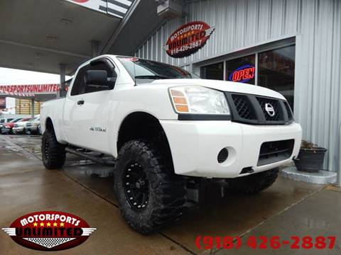 2007 Nissan Titan for sale at Motorsports Unlimited in McAlester OK