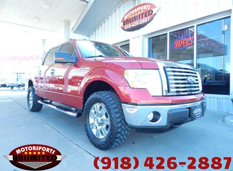 2010 Ford F-150 for sale at Motorsports Unlimited in McAlester OK