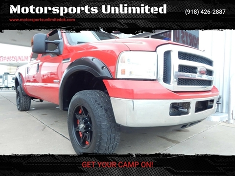 2007 Ford F-250 Super Duty for sale at Motorsports Unlimited in McAlester OK