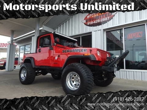 1990 Jeep Wrangler for sale in Mcalester, OK