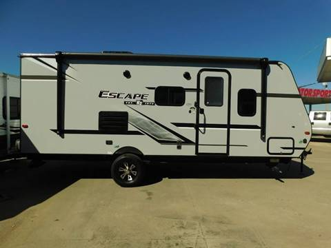 2019 KZ Escape 191SS for sale at Motorsports Unlimited - DOS in Durant OK