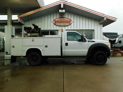 2012 Ford F-450 Super Duty for sale in Mcalester, OK