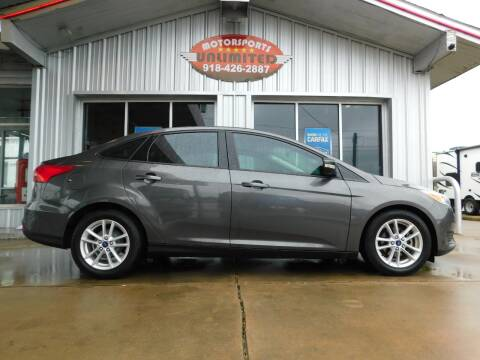 2016 Ford Focus for sale at Motorsports Unlimited in McAlester OK
