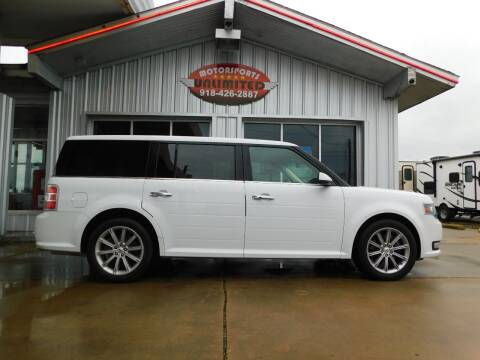 2015 Ford Flex for sale at Motorsports Unlimited in McAlester OK