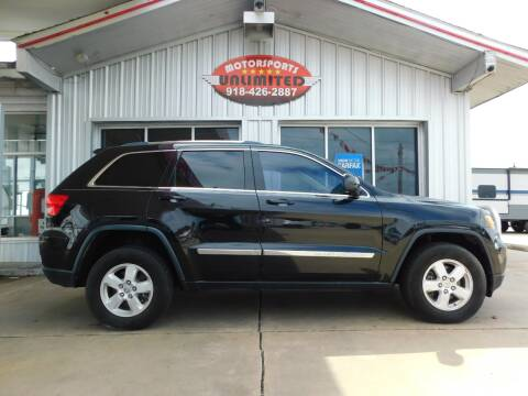 2013 Jeep Grand Cherokee for sale at Motorsports Unlimited in McAlester OK
