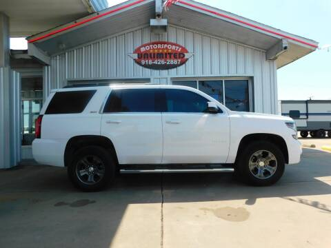 2016 Chevrolet Tahoe for sale at Motorsports Unlimited in McAlester OK