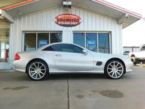 2005 Mercedes-Benz SL-Class for sale at Motorsports Unlimited in McAlester OK