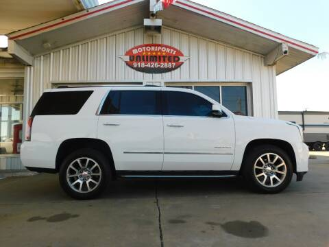 2015 GMC Yukon for sale at Motorsports Unlimited in McAlester OK