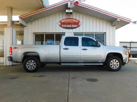 2014 GMC Sierra 3500HD for sale at Motorsports Unlimited in McAlester OK