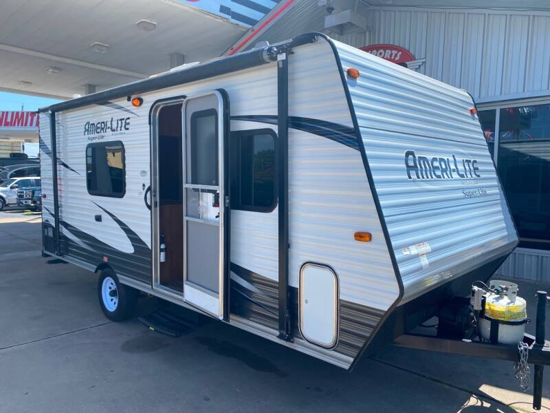 2017 Gulf Stream Ameri-Lite 188RB for sale at Motorsports Unlimited in McAlester OK