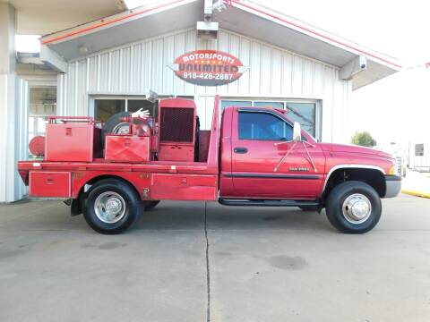 1999 Dodge Ram Chassis 3500 for sale at Motorsports Unlimited in McAlester OK