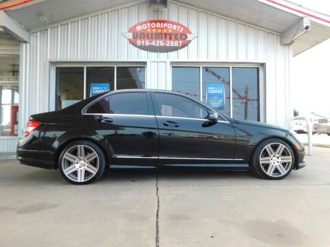 2011 Mercedes-Benz C-Class for sale at Motorsports Unlimited in McAlester OK