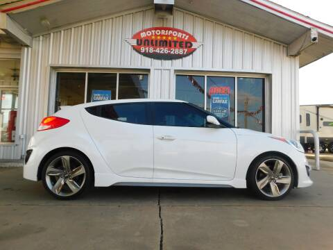 2015 Hyundai Veloster for sale at Motorsports Unlimited in McAlester OK