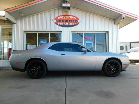 2016 Dodge Challenger for sale at Motorsports Unlimited in McAlester OK