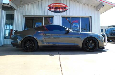 2017 Ford Mustang for sale at Motorsports Unlimited in McAlester OK