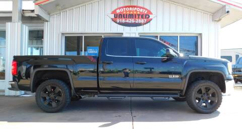 2015 GMC Sierra 1500 for sale at Motorsports Unlimited in McAlester OK