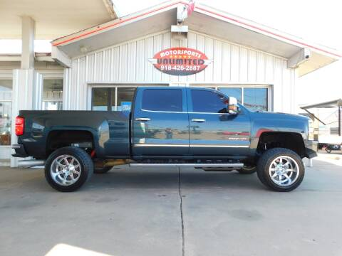 2017 Chevrolet Silverado 2500HD for sale at Motorsports Unlimited in McAlester OK