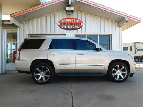 2015 Cadillac Escalade for sale at Motorsports Unlimited in McAlester OK