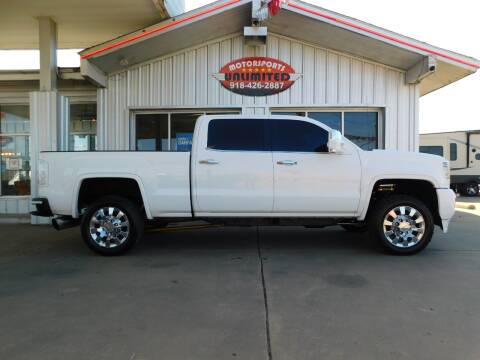 2015 GMC Sierra 2500HD for sale at Motorsports Unlimited in McAlester OK