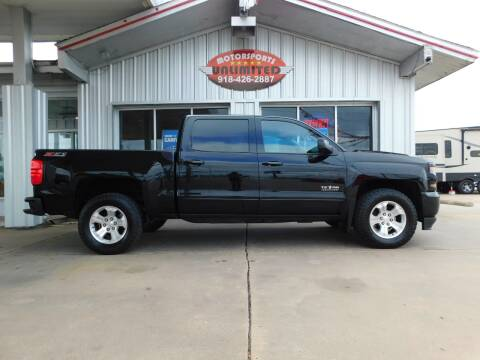 2017 Chevrolet Silverado 1500 for sale at Motorsports Unlimited in McAlester OK