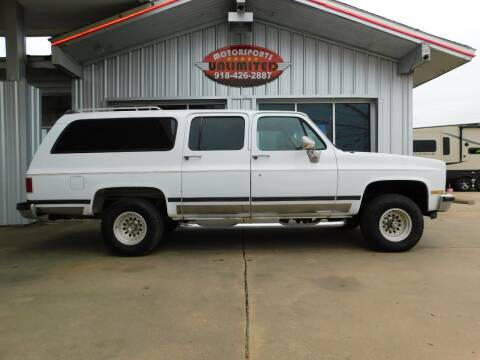 1989 Chevrolet Suburban for sale at Motorsports Unlimited in McAlester OK