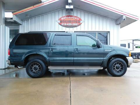 2000 Ford Excursion for sale at Motorsports Unlimited in McAlester OK