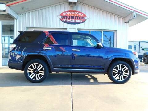 2014 Toyota 4Runner for sale at Motorsports Unlimited in McAlester OK