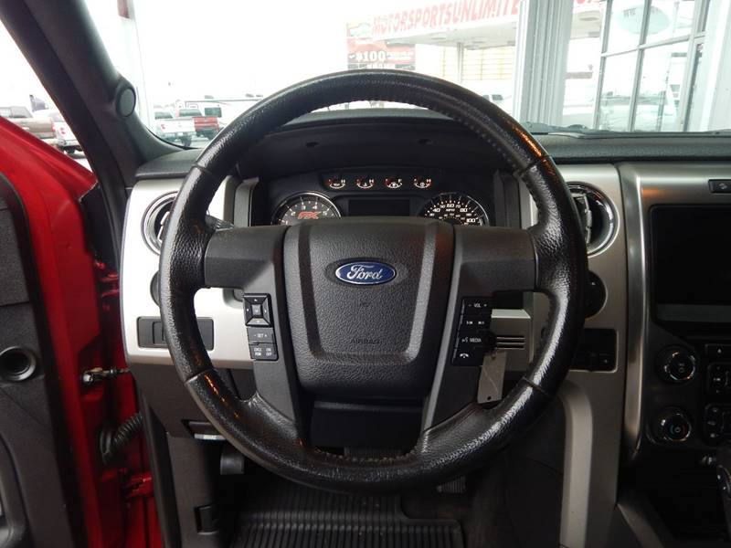 2013 Ford F-150 4x4 FX4 4dr SuperCrew Styleside 5.5 ft. SB - Mcalester OK
