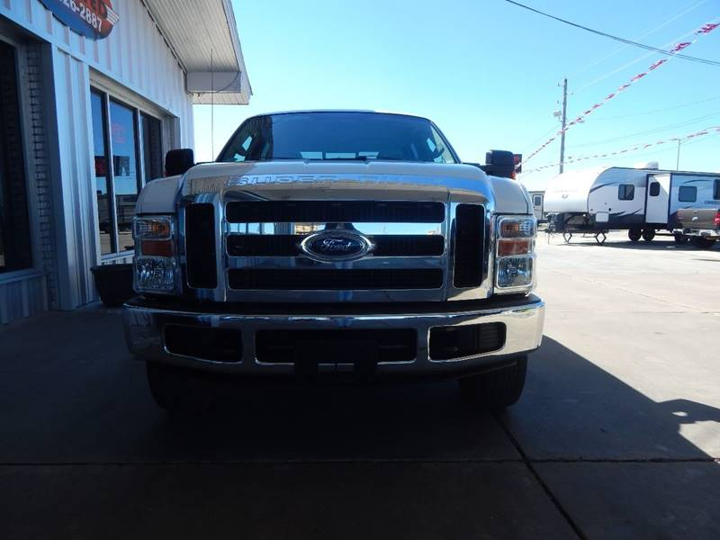 2008 Ford F-250 Super Duty XLT 4dr Crew Cab 4WD LB - Mcalester OK