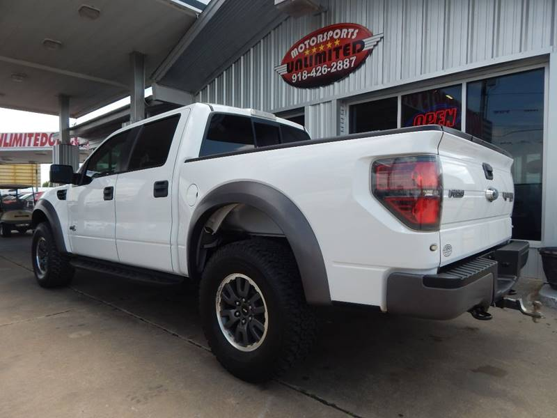 2011 Ford F-150 4x4 SVT Raptor 4dr SuperCrew Styleside 5.5 ft. SB - Mcalester OK