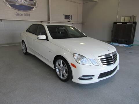 2012 Mercedes-Benz E-Class for sale at TANQUE VERDE MOTORS in Tucson AZ