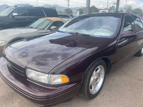 1996 Chevrolet Impala for sale at TANQUE VERDE MOTORS in Tucson AZ