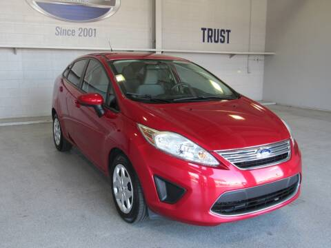 2012 Ford Fiesta for sale at TANQUE VERDE MOTORS in Tucson AZ