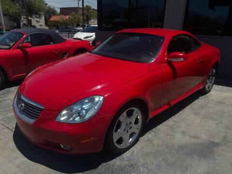 2005 Lexus SC 430 for sale at TANQUE VERDE MOTORS in Tucson AZ