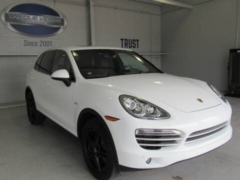 2014 Porsche Cayenne for sale at TANQUE VERDE MOTORS in Tucson AZ