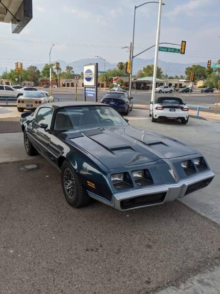 1979 Pontiac Firebird for sale at TANQUE VERDE MOTORS in Tucson AZ