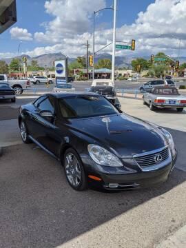 2008 Lexus SC 430 for sale at TANQUE VERDE MOTORS in Tucson AZ