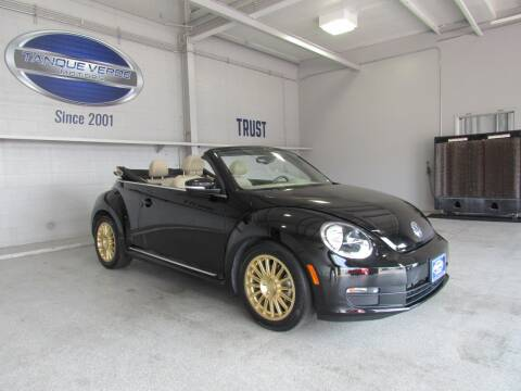 2016 Volkswagen Beetle Convertible for sale at TANQUE VERDE MOTORS in Tucson AZ