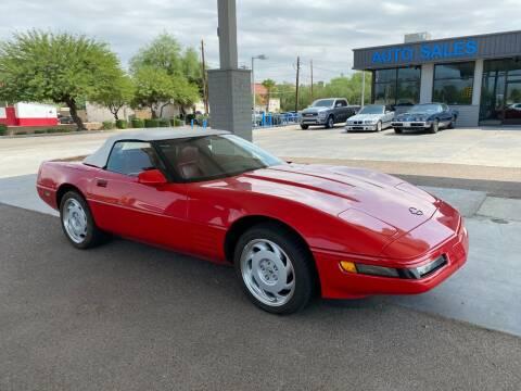 1992 Chevrolet Corvette for sale at TANQUE VERDE MOTORS in Tucson AZ