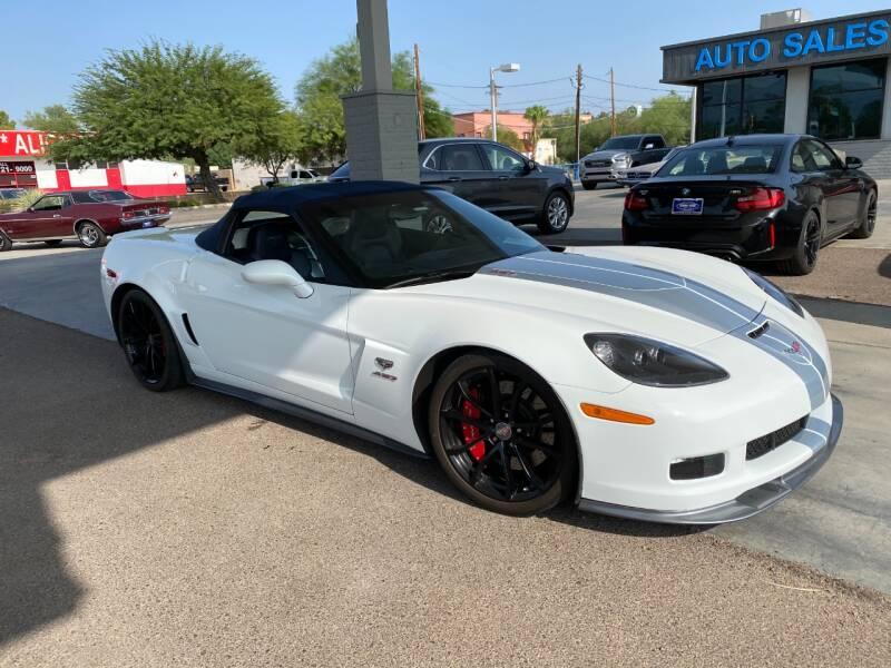 2013 Chevrolet Corvette for sale at TANQUE VERDE MOTORS in Tucson AZ