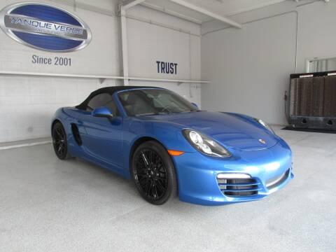 2014 Porsche Boxster for sale at TANQUE VERDE MOTORS in Tucson AZ
