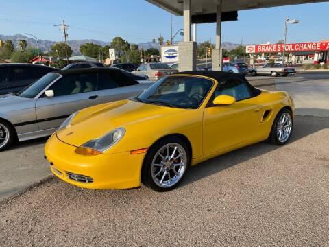 2000 Porsche Boxster for sale at TANQUE VERDE MOTORS in Tucson AZ