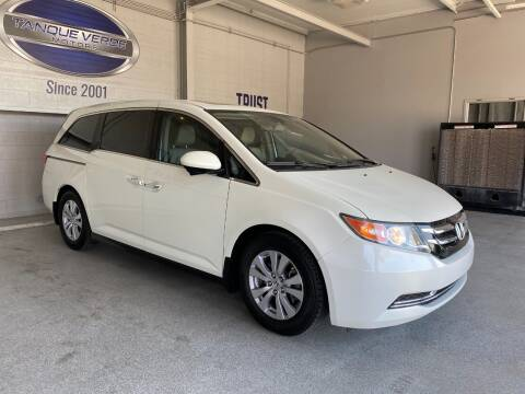 2015 Honda Odyssey for sale at TANQUE VERDE MOTORS in Tucson AZ